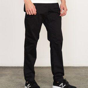 NEW RVCA Men's Spectrum Pant II Black NWT
